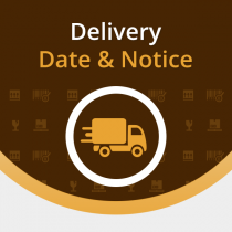 Magento extension for delivery date and notice by Aheadworks.