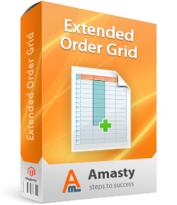 AMASTY Extended Order Grid for Magento.